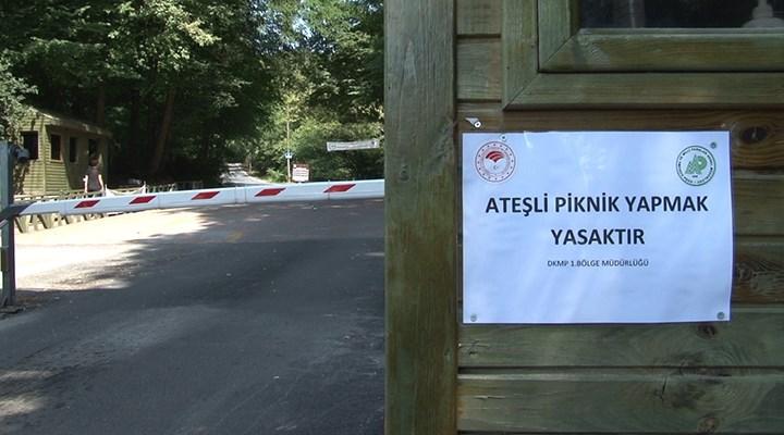 İstanbul'da mangal yasaklanınca piknik alanları boş kaldı