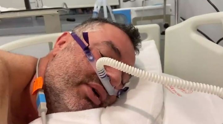 Sağlık Bakanı, yoğun bakımdaki Covid-19 hastasını paylaştı: Aşı olmadım, keşke olsaydım