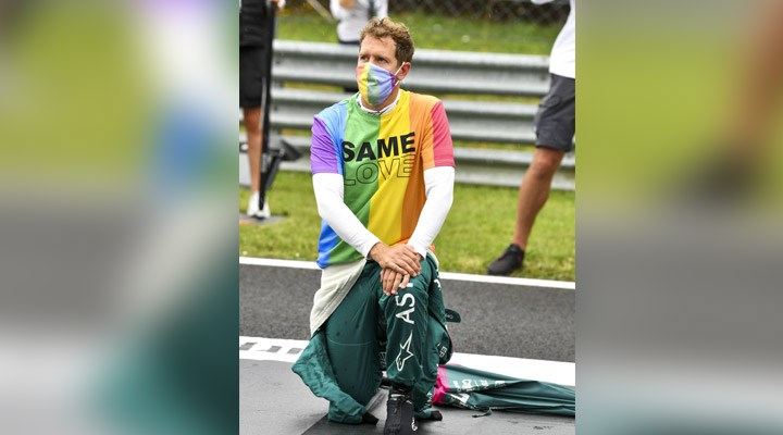Sebastian Vettel, F1 Macaristan Grand Prix'sinden diskalifiye edildi