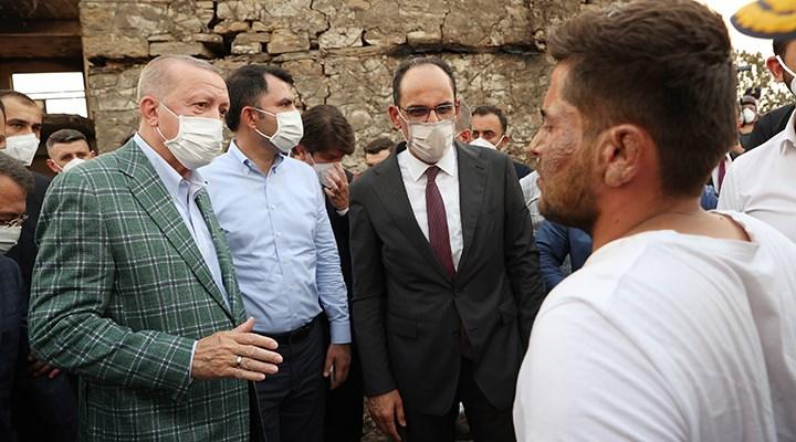 Erdoğan'ın ziyaretini muhtar anlattı: Köylülere kredi teklif etmiş
