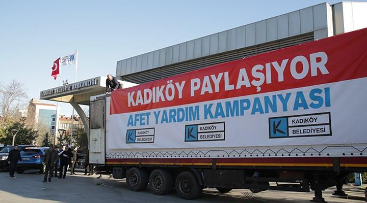 Kadıköy Belediyesi'nden afet yardım kampanyası