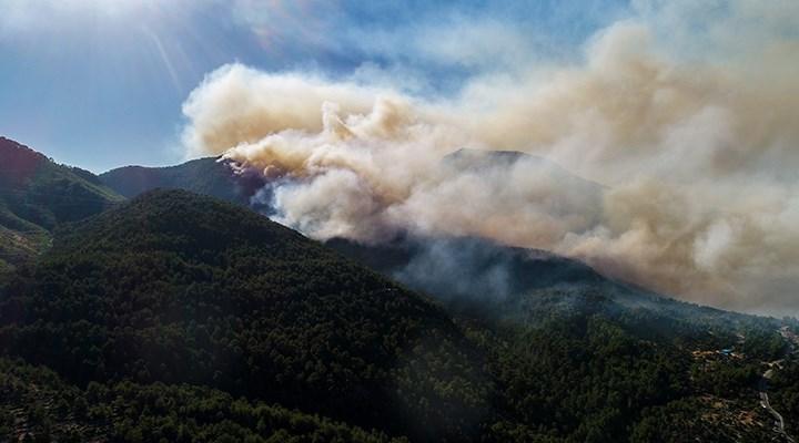 Manavgat'taki yangında 6. gün: 7 mahalle tehdit altında