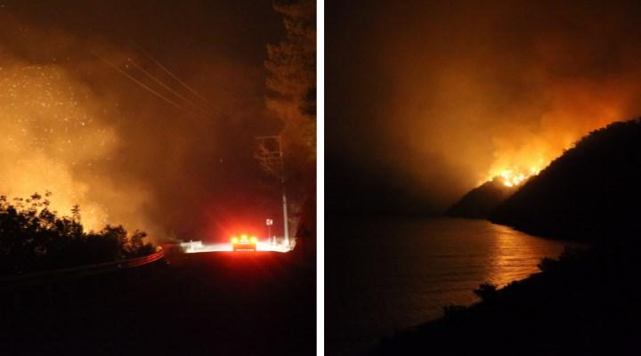 Orman yangınlarında son durum: 5 ilde 10 yangın devam ediyor