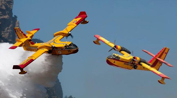 THK'nin kullanılmayan uçaklarıyla AB'nin yardım için gönderdikleri arasındaki fark: 'Beş kova su'