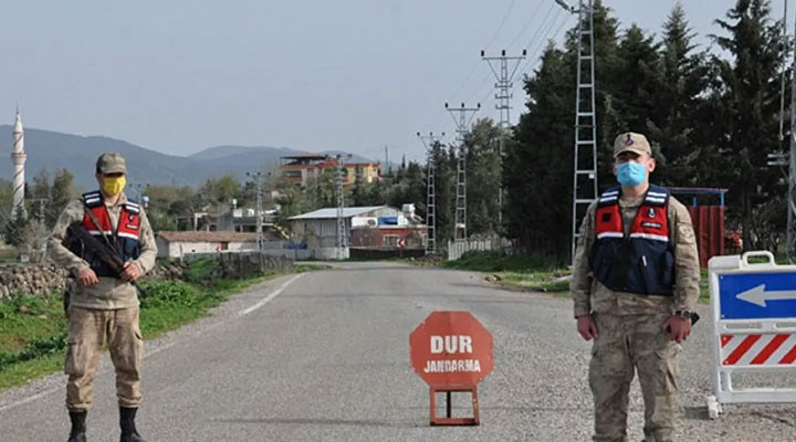 Adıyaman'da 51 ev Covid-19 tedbirleri kapsamında karantinaya alındı