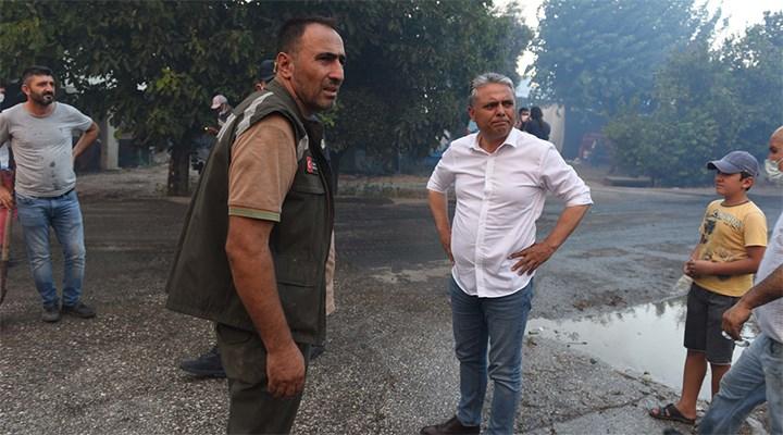 Antalya'da belediyenin kiraladığı yangın söndürme helikopteri, bakanlıktan izin bekliyor
