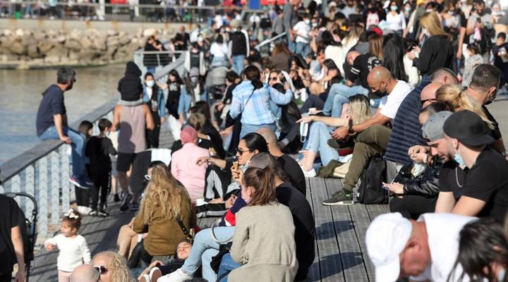 İsrail'de son 5 ayın en yüksek günlük vaka sayısı kaydedildi