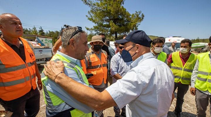 Tunç Soyer'den yangın mağdurlarına ziyaret: Gücümüz neyse sonuna kadar destek olacağız