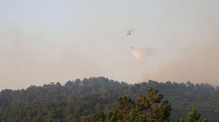 Isparta ve Denizli'deki orman yangınları için askeri personel görevlendirildi