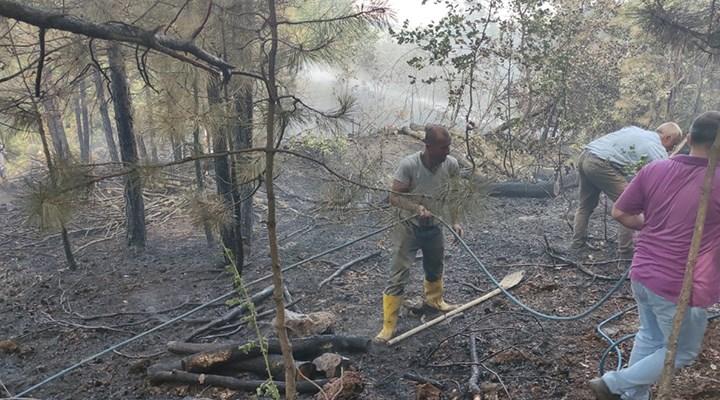 Mersin'de yangın çıkaran kişi tutuklandı