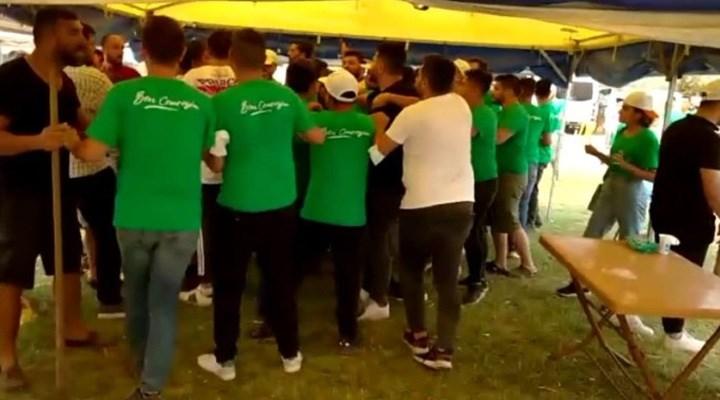 AKP Gençlik kolları Milas Afet Koordinasyon Merkezi'ne saldırdı