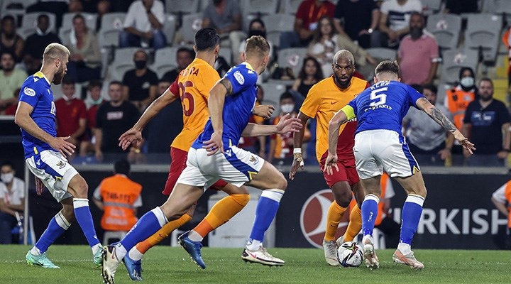 Galatasaray, St. Johnstone ile 1-1 berabere kaldı