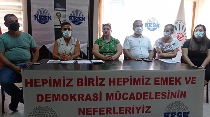 KESK İzmir, 'eşit işe eşit ücret' talep etti