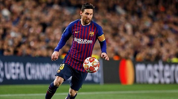 Lionel Messi, Barcelona'dan ayrıldı