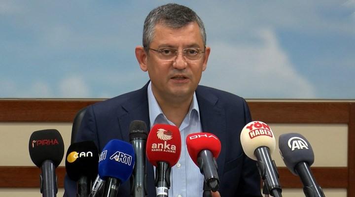 Özgür Özel'den 'Help Turkey' yorumu: Kendine güvenen ülke buna soruşturma açmaz