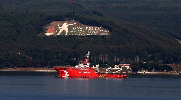 Yangınların 9. gününde Nene Hatun Acil Müdahale Gemisi bölgeye gönderildi