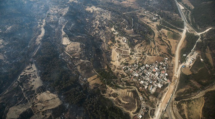 Orman yangınlarında 10. gün: 5 ilde 13 yangın devam ediyor