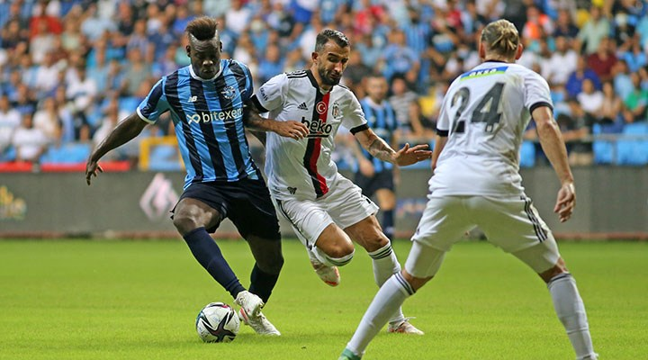 Adana Demirspor ile Beşiktaş berabere kaldı