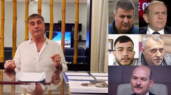 Sedat Peker'den yeni iddialar: Burhan Kuzu, Zindaşti, Orhan Ünğan, Ümitcan Uygun, Aleyna Çakır, Süleyman Soylu...