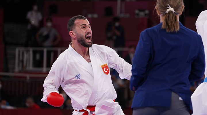 Tokyo 2020: Milli karateci Uğur Aktaş bronz madalya kazandı