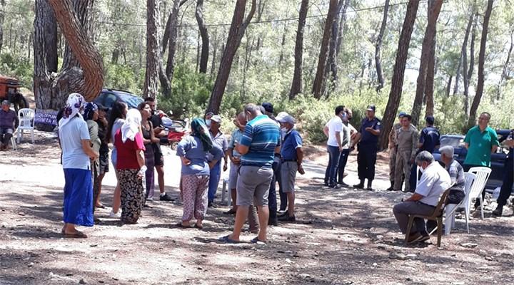 Akbelen'de ormanları için nöbet tutan köylülere jandarma engeli