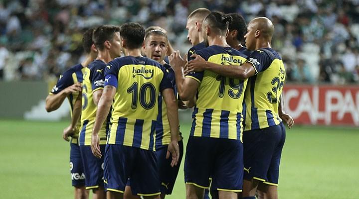 Fenerbahçe hazırlık maçında Giresunspor'u mağlup etti