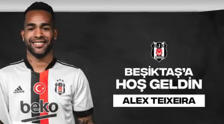 Beşiktaş, Alex Teixeira'yı resmen duyurdu
