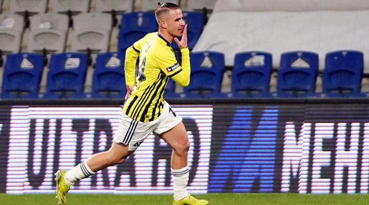 Fenerbahçe'de Dimitris Pelkas'ınomzu çıktı