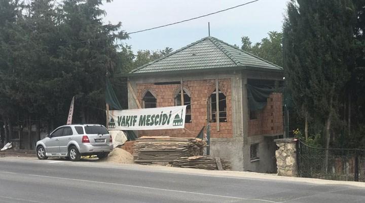 İsmailağa Cemaati'nden Çatalca'daki araziye kaçak inşaat: Rabıta zorbalığı