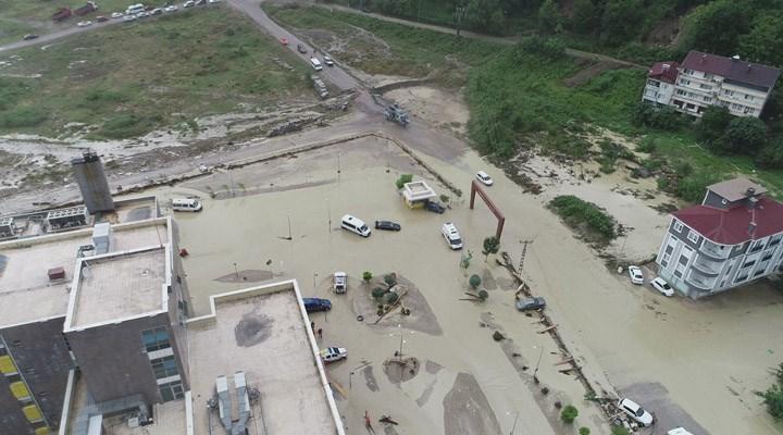 Sinop'ta selin yıkımı gün ağarınca ortaya çıktı
