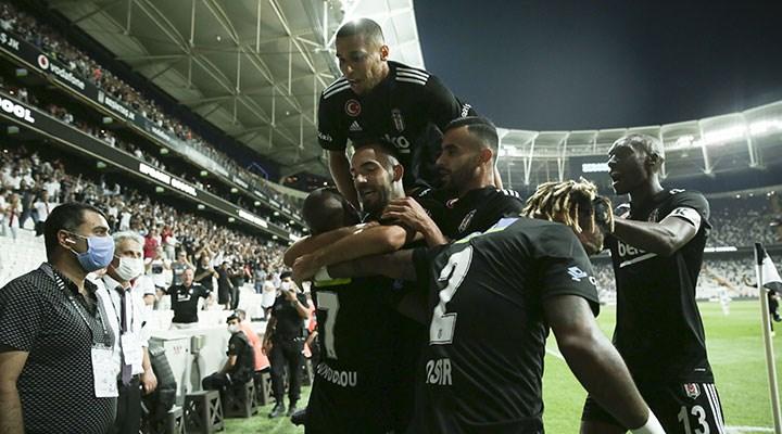 Beşiktaş sezonun açılış maçında Rizespor'u 3 golle geçti