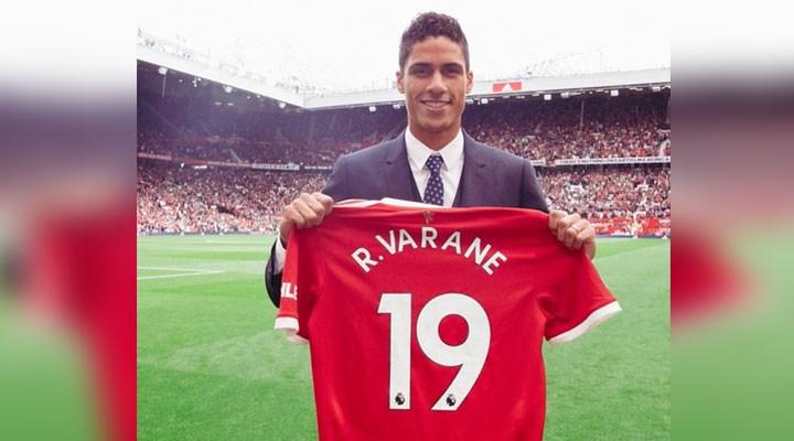 Manchester United, Raphael Varane transferini açıkladı