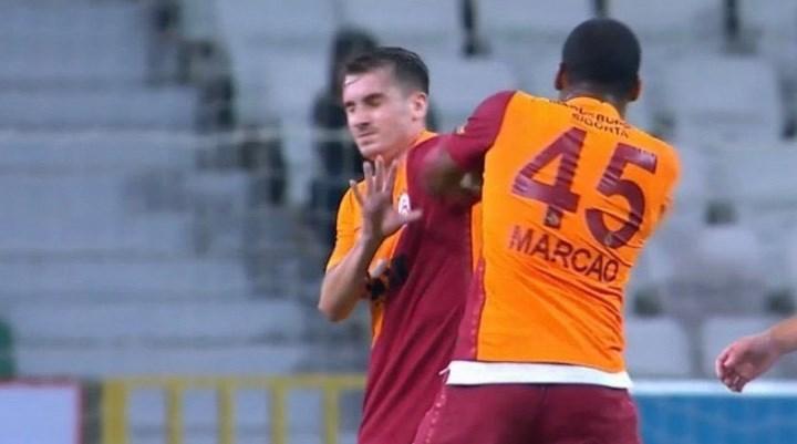 Galatasaray'da Marcao'nun cezası belli oldu