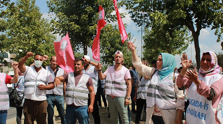 AdkoTurk'te grev başladı