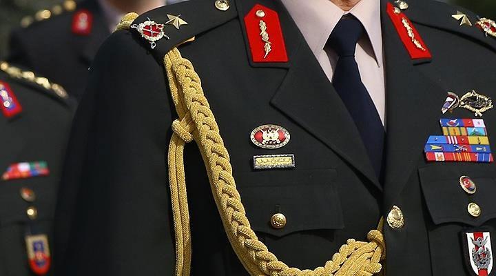 Türk Silahlı Kuvvetleri'nde 141 general ve amiralin görev yerleri değiştirildi