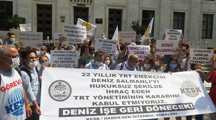 TRT'ye çağrı: Haksız işten çıkarmalara son verin