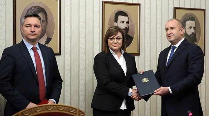 Bulgaristan'da hükümet kurma görevi Bulgaristan Sosyalist Partisi'ne verildi