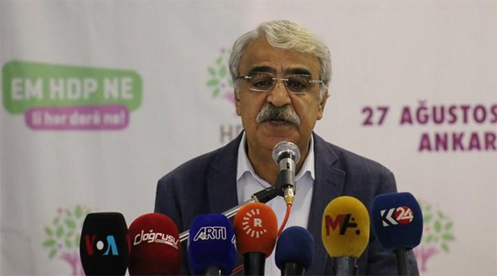HDP Eş Genel Başkanı Sancar: Kapatma davası gündemimizde yok