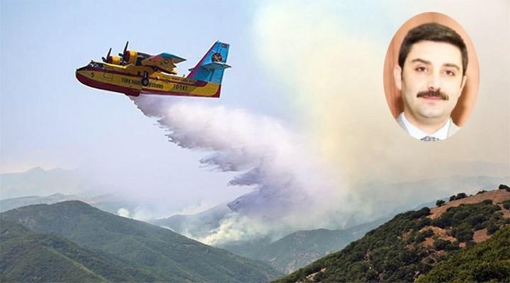 AKP Tunceli İl Başkanı yangına photoshop ile müdahale etti