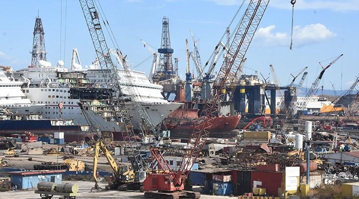 Aliağa'da gemi söküm tesisi etrafında asbest tespit edildi