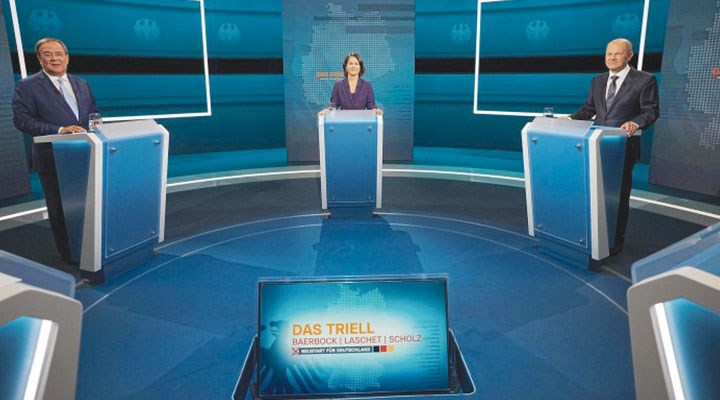 Almanya'da seçime haftalar kala adaylar ekranda