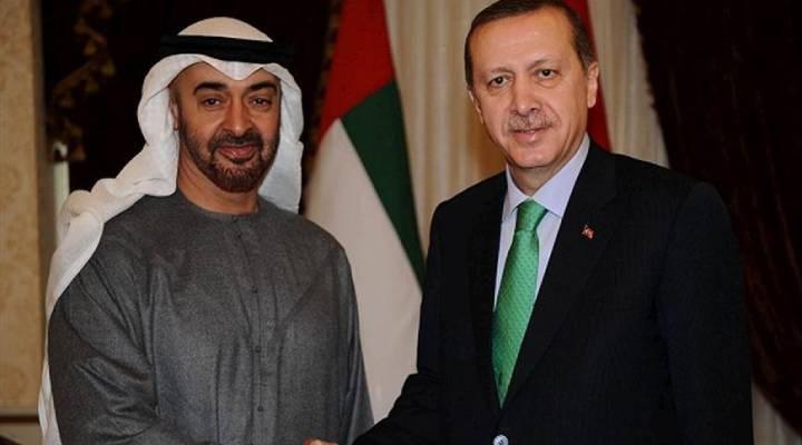Cumhurbaşkanı Erdoğan, BAE Veliaht Prensi ile görüştü