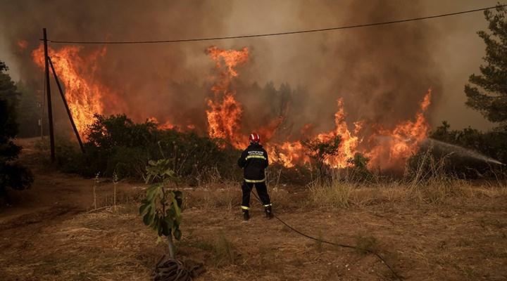 Orman yangınları nedeniyle Yunanistan'da kabine değişti