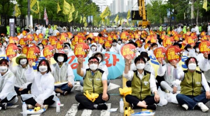 Sağlık çalışanları büyük greve hazır