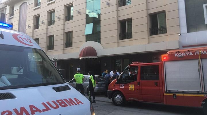 Bakımını yaptıkları asansörde sıkışan 2 işçiden biri yaşamını yitirdi