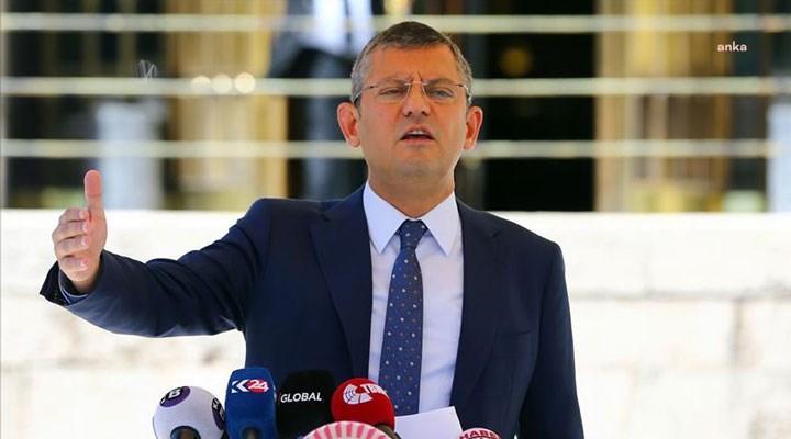 CHP'li Özel: Yeni anayasayı yeni meclis oluştuğu zaman yapacağız