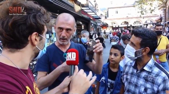 Doğalgaz zammını soran muhabire saldırdı!
