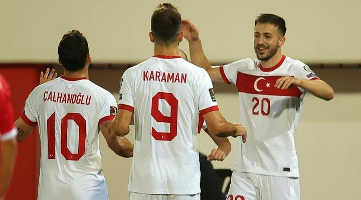 Türkiye, Cebelitarık'ı 3-0 yendi