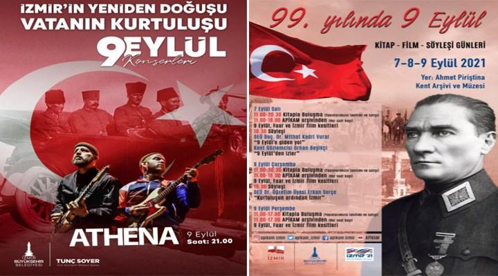 İzmir Büyükşehir Belediyesi, 9 Eylül coşkusunu tüm kente yayacak