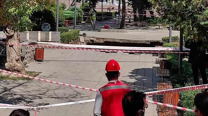Ankara'da metro inşaatında göçük